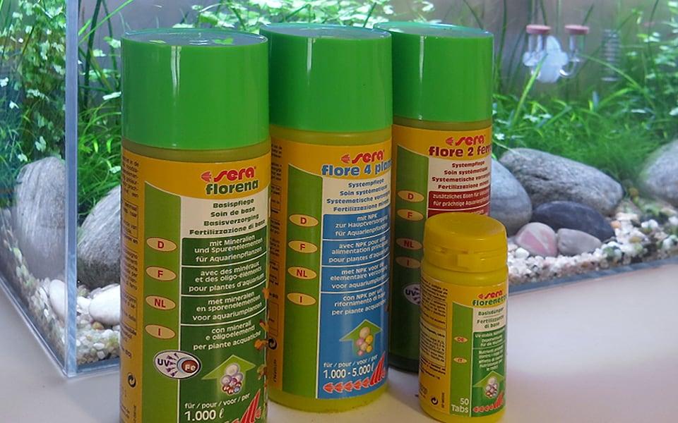 Fertilizzanti per acquario Sera
