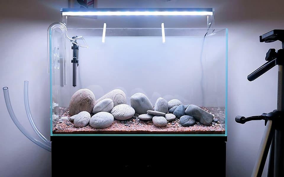 Vasca acquario su misura